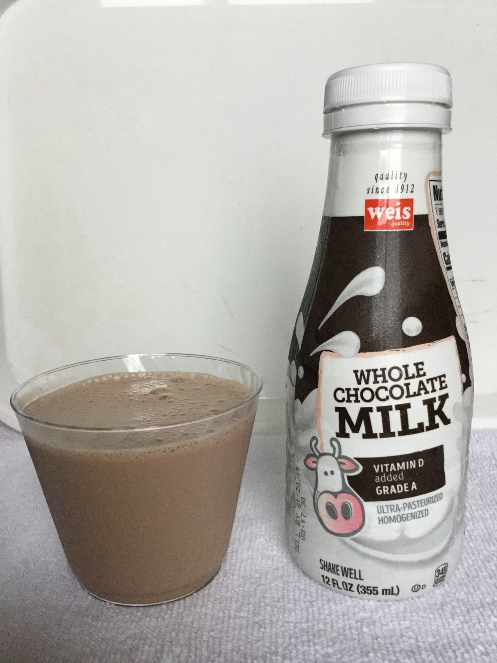Weis Chocolate Milk Cup
