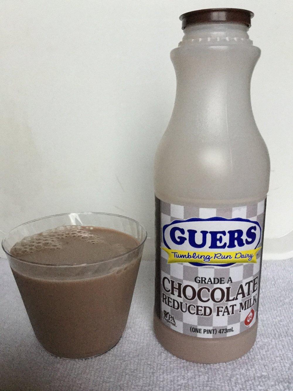 Guers Tumbling Run Dairy Chocolate Milk Cup