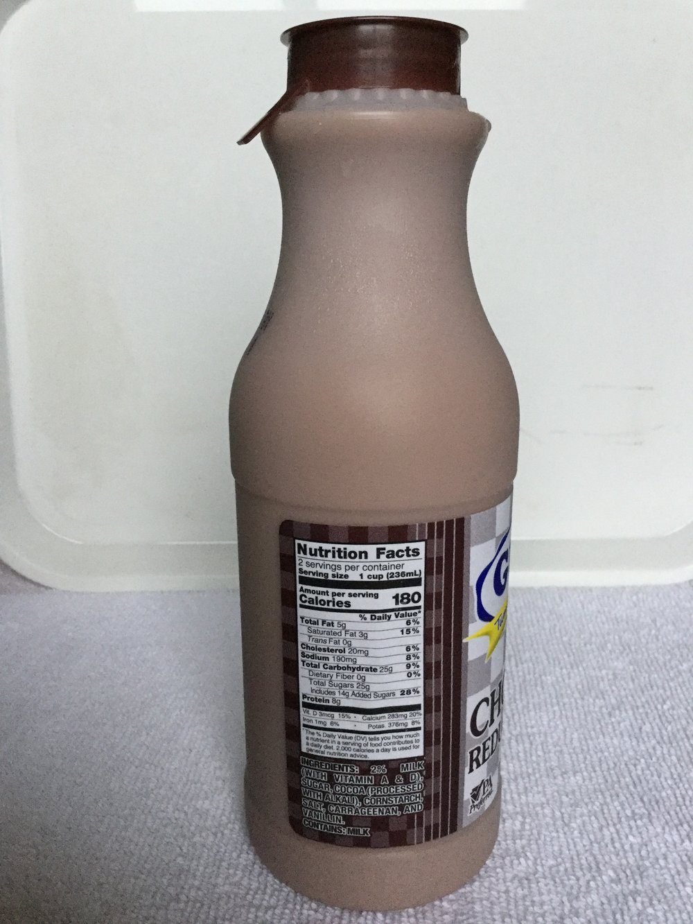 Guers Tumbling Run Dairy Chocolate Milk Side 1