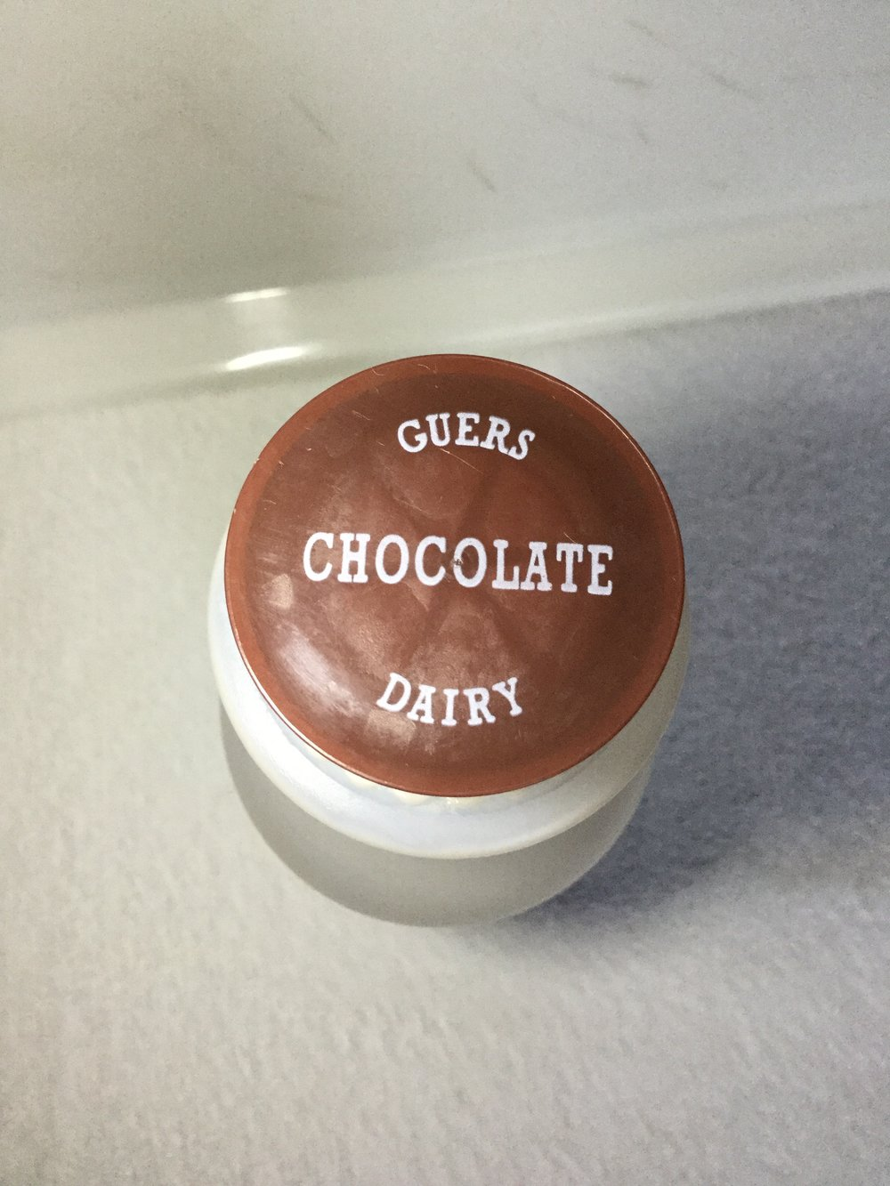 Guers Tumbling Run Dairy Chocolate Milk Top