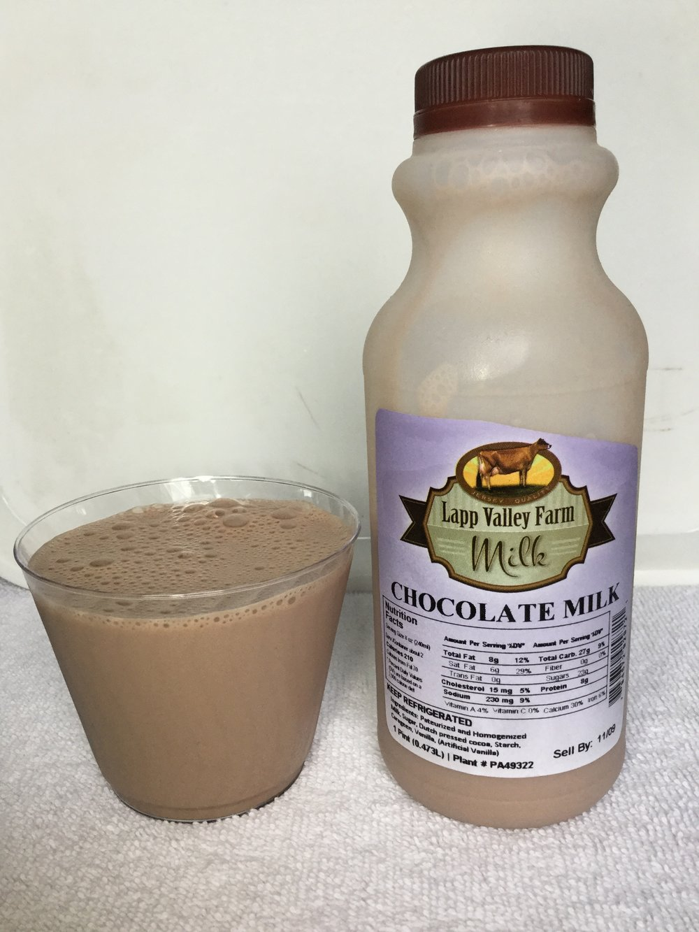 Lapp Valley Farm Chocolate Milk Cup