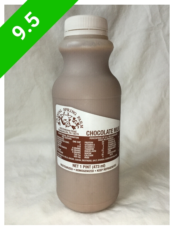 Crystal Spring Farm Chocolate Milk (USA: PA)