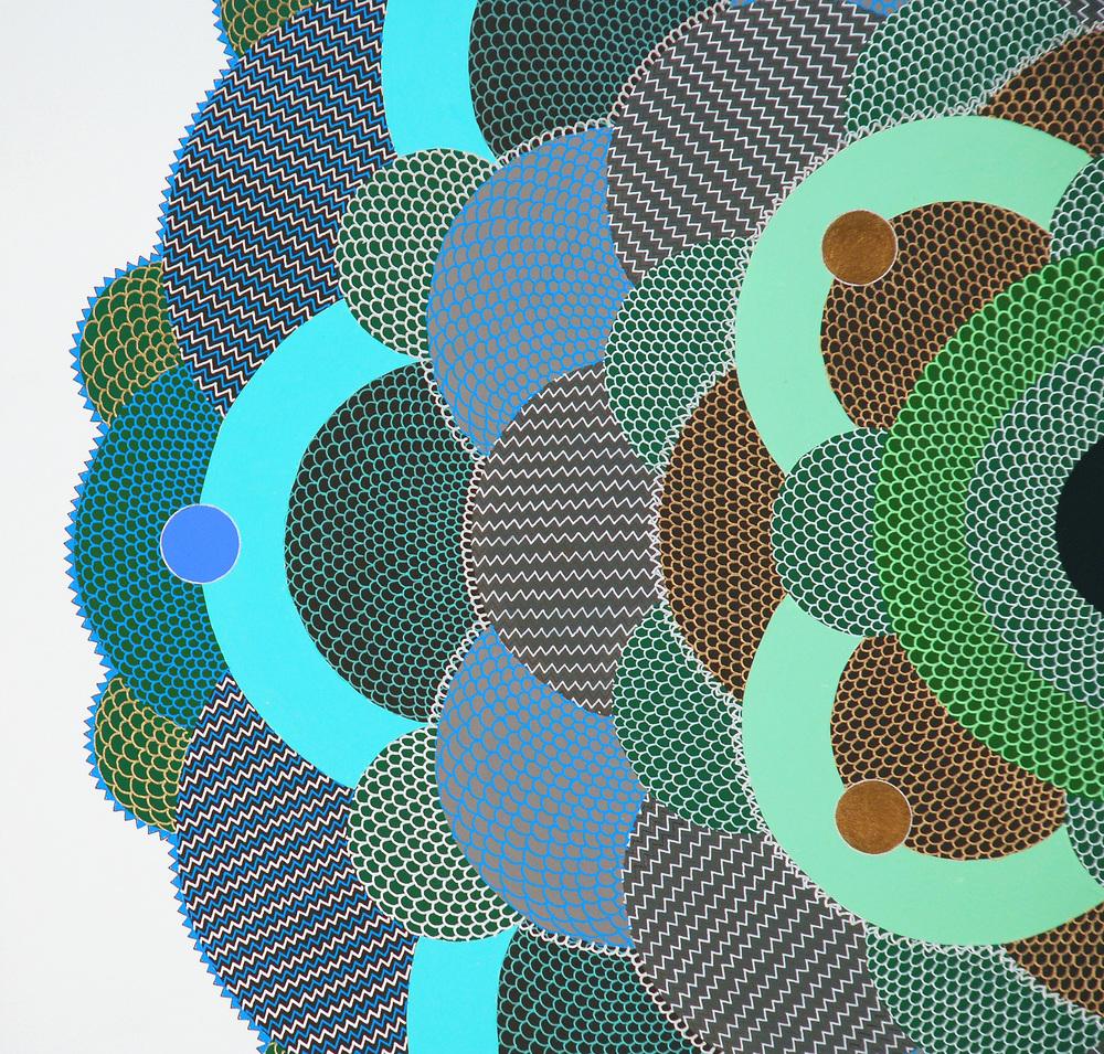 Pine Tree Eye (detail), 2008