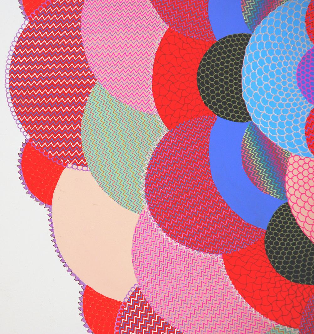 Suicide Eye (detail), 2008