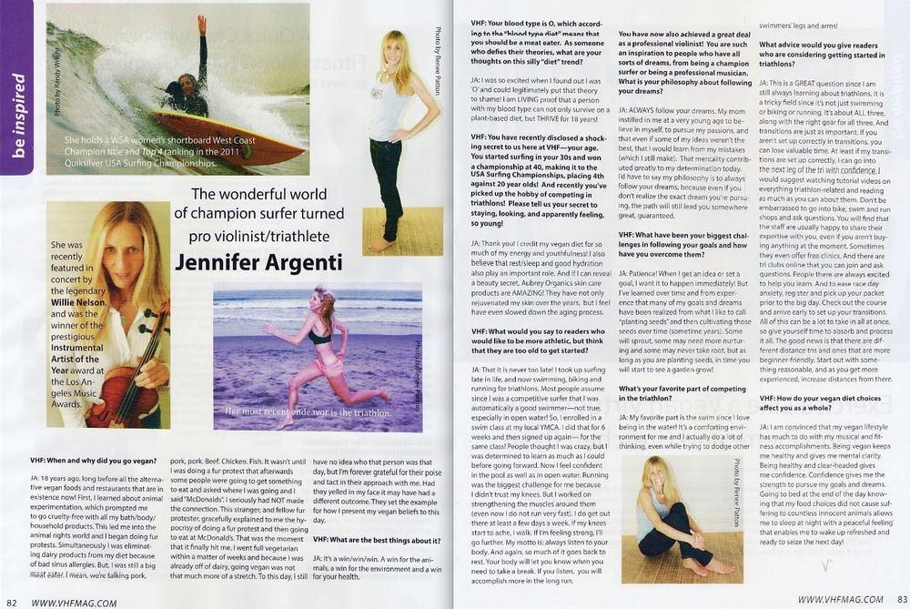Vegan Health &Fitness Magazine
