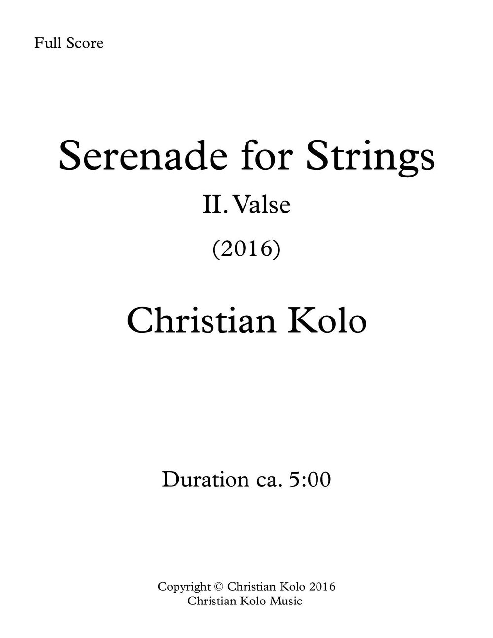 Serenade For Strings (Valse) (Works Cover).jpg