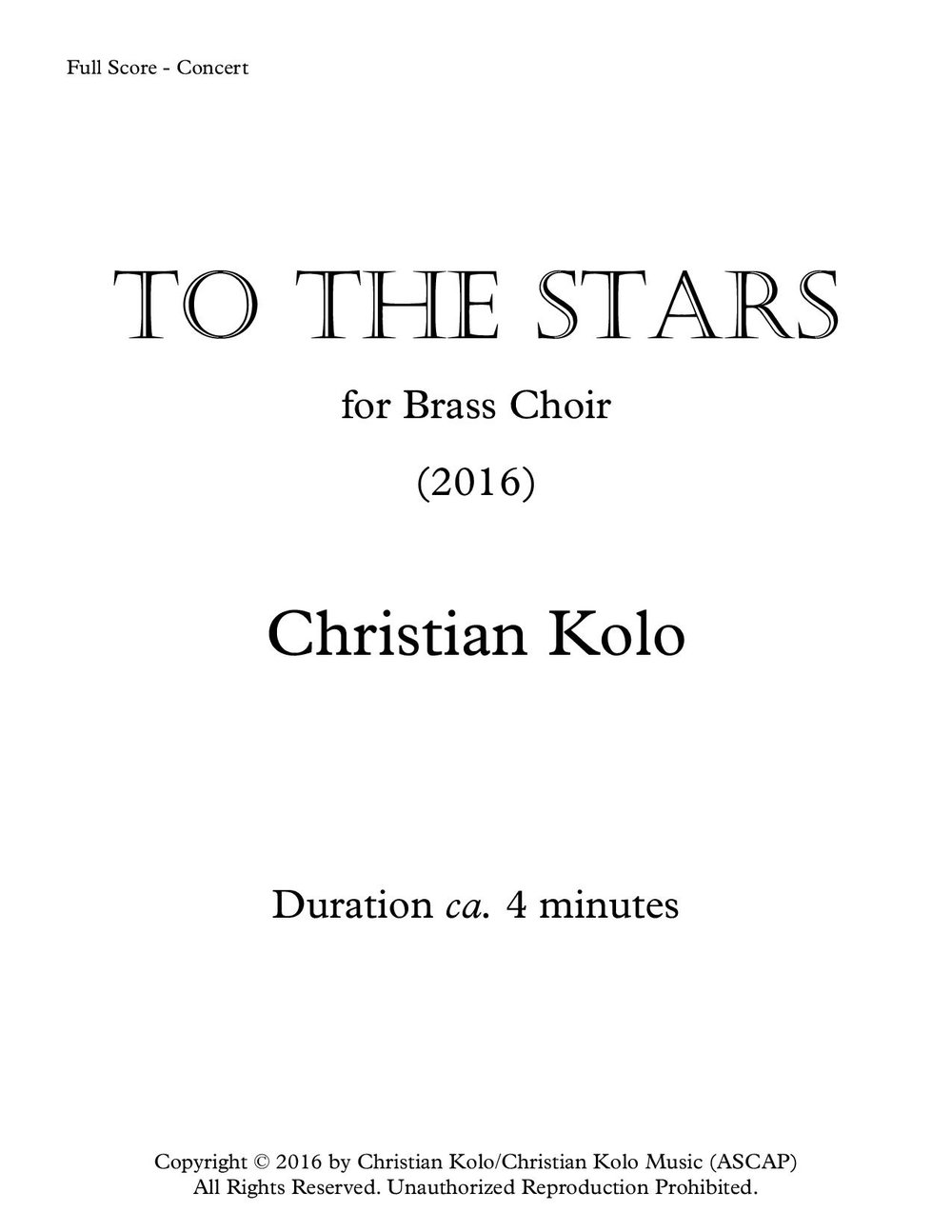 To The Stars (Works Cover).jpg
