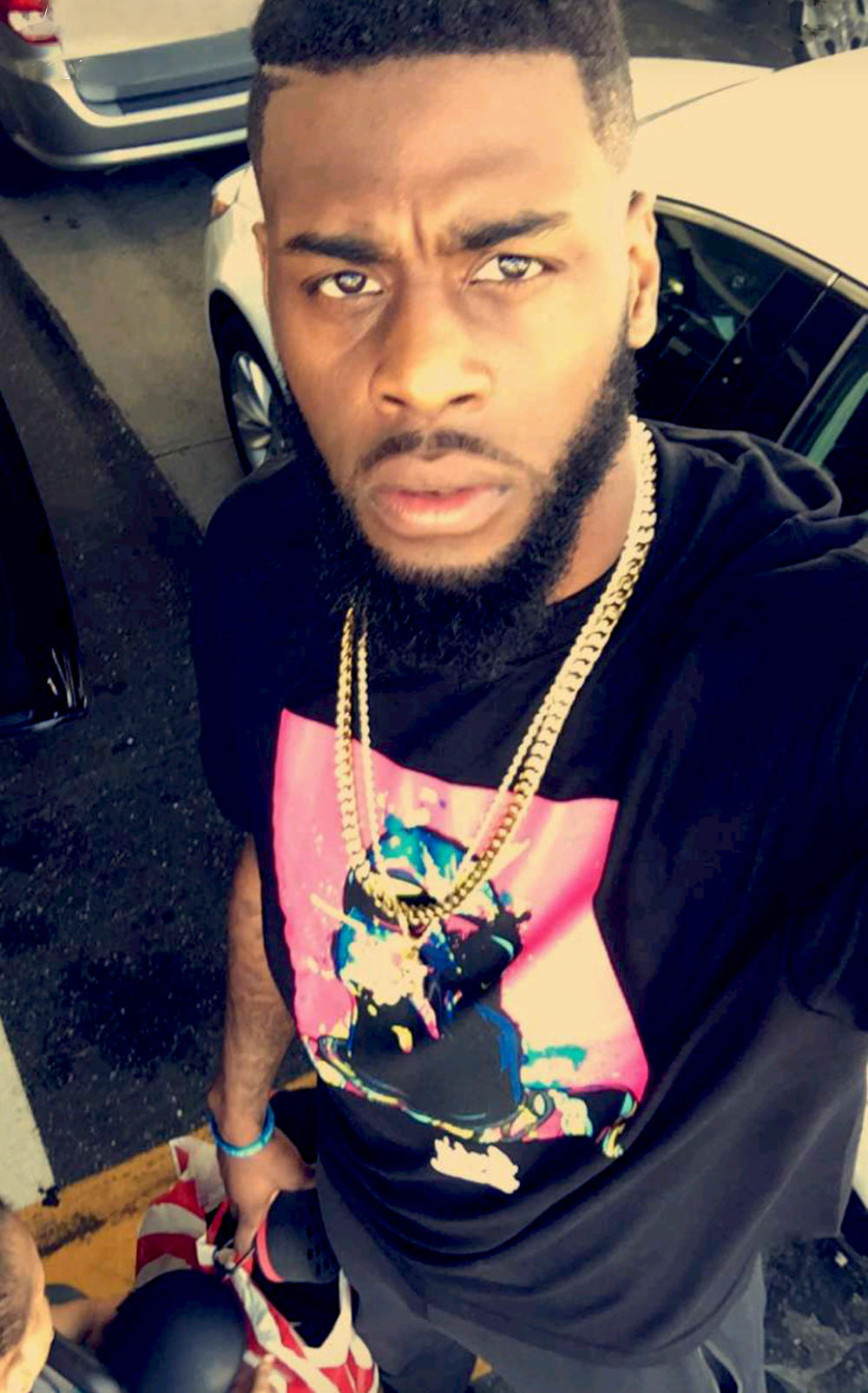 WILLIE REED - MIAMI HEAT  (BIGGIE SPLASH TEE)
