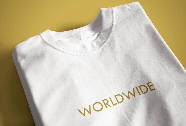 "Worldwide Collection ""Gold Edition"" is live on the site and ready to be shipped out!!! #luckielosers #worldwide #dope #streetwear #gold"