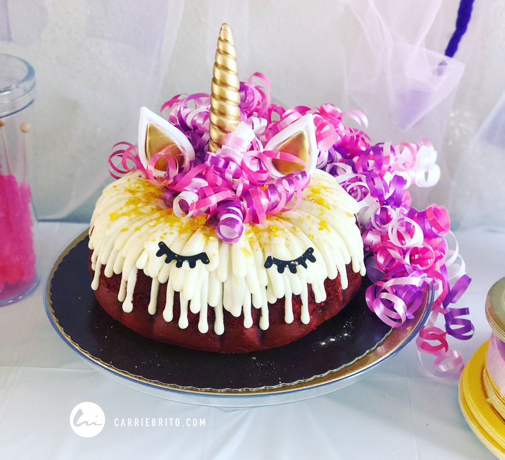 Diy Unicorn Cake In Under 10 Minutes Carrie Brito