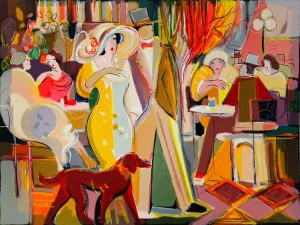 """Romantic Evening"" by Isaac Maimon"