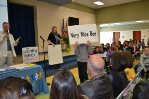 Heron Heights Elementary gets the anti-bullying message / (Photo by Andrew Leone, Children's Services Council of Broward County)