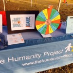 Our new I Care prize wheel starts conversations