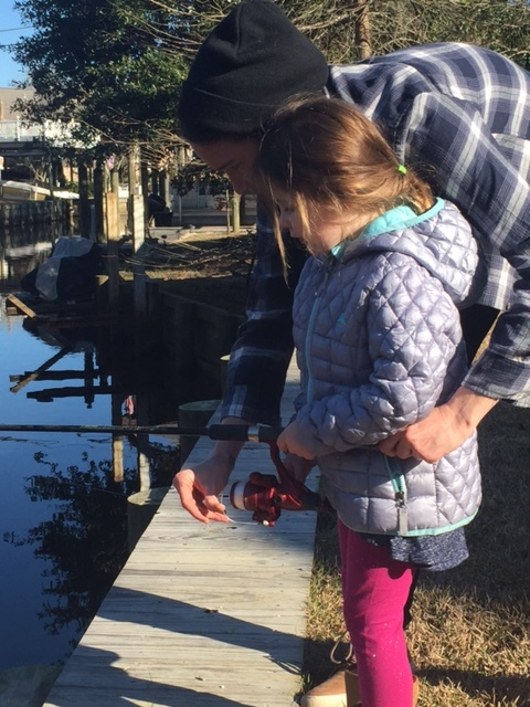 1. fishing with my niece in Louisiana