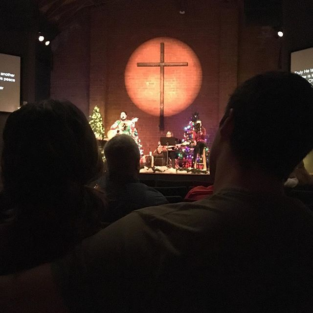 Celebrating the birth of Christ this morning as a church family  @pasadenachurch