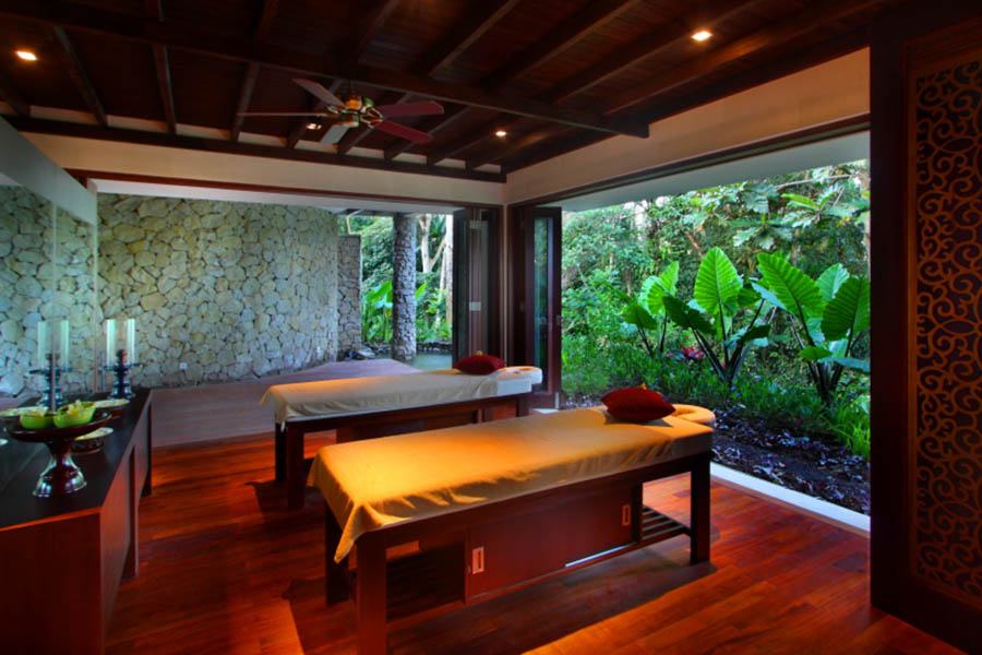 Ayurvedic and Balinese spa therapies available in house.