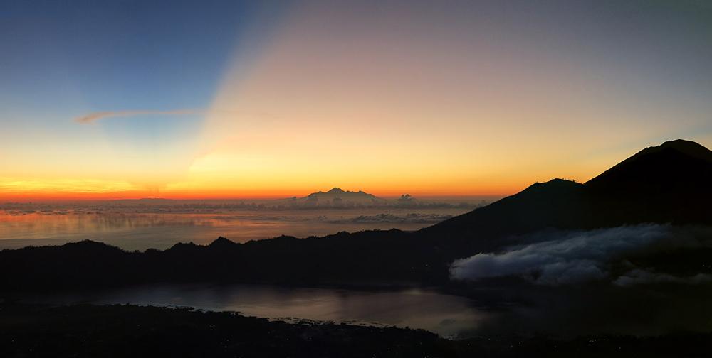 Mount Batur Lake.