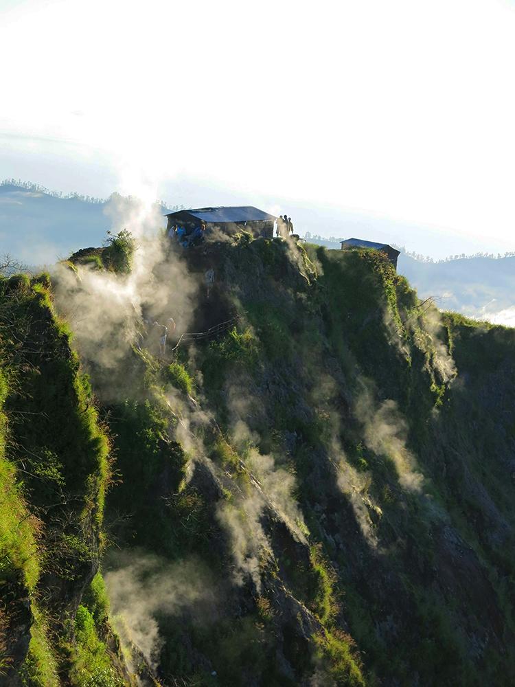 Mount Batur, elevation 5,633 ft.