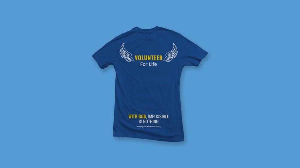 Volunteer T-Shirt Design