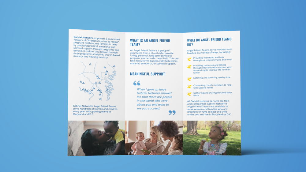 Angel Friend Team Client-Facing Brochure
