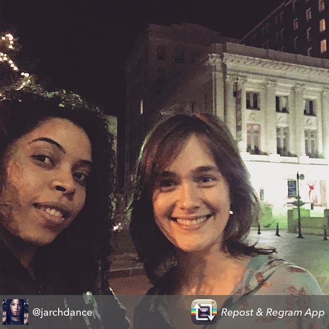 Repost from @jarchdance using @RepostRegramApp - GREENVILLE SOUTH CAROLINA WITH Artist Nicola Bullock #tripleninesociety @jarchdance