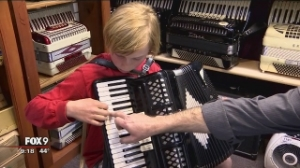 Channel 9 news story about Accordion Heaven
