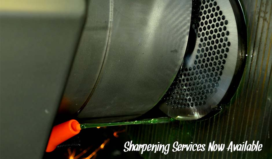 Sharpening Services now Available