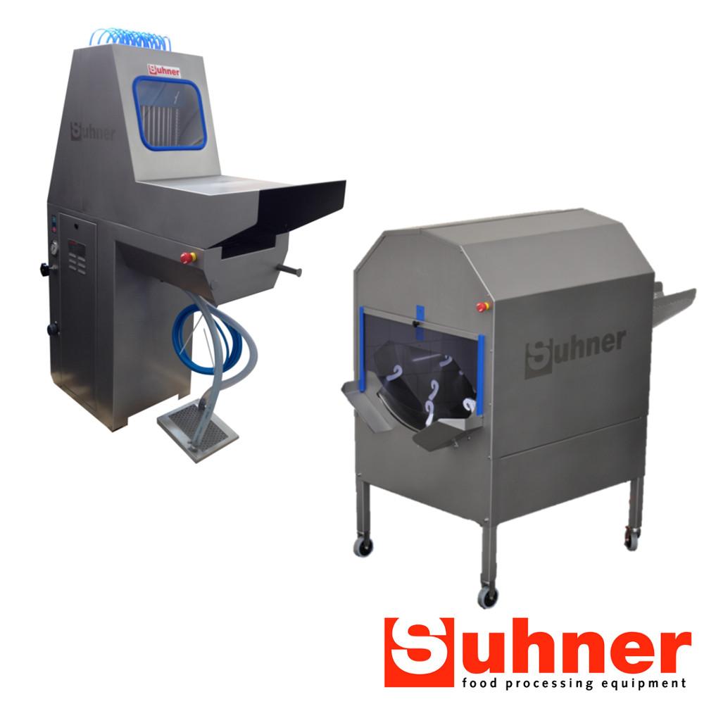 Suhner: Tumblers, Injectors, Sausage De-linkers