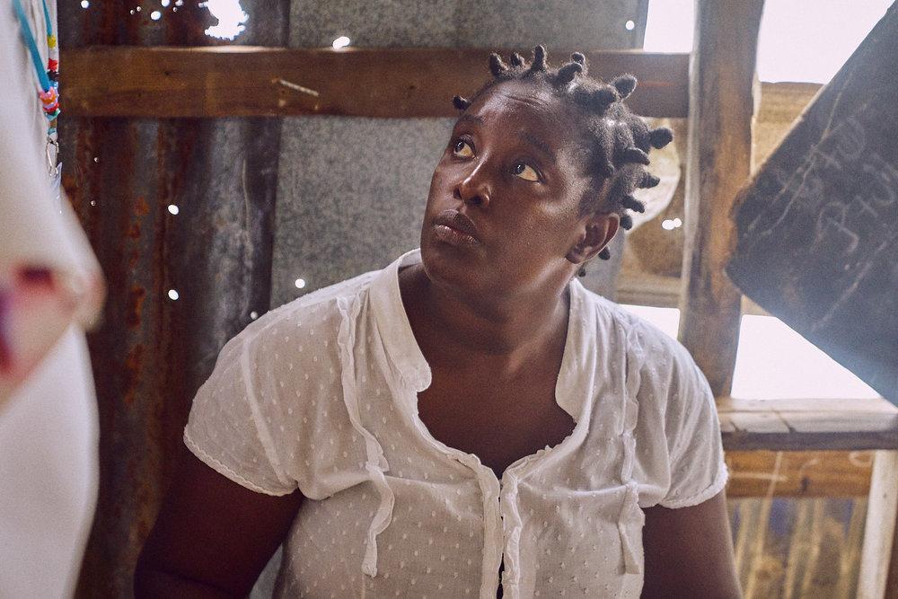 Chantal Dumera, Administrator of Bethel School, Haiti, 2016.