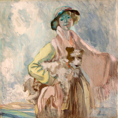Frances Hodgkins - Portrait of Miss Beatrice Wood