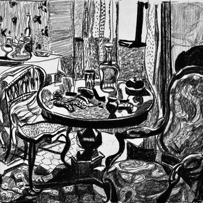 Frances Hodgkins - The Sitting Room