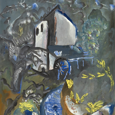 Frances Hodgkins - The Water Mill