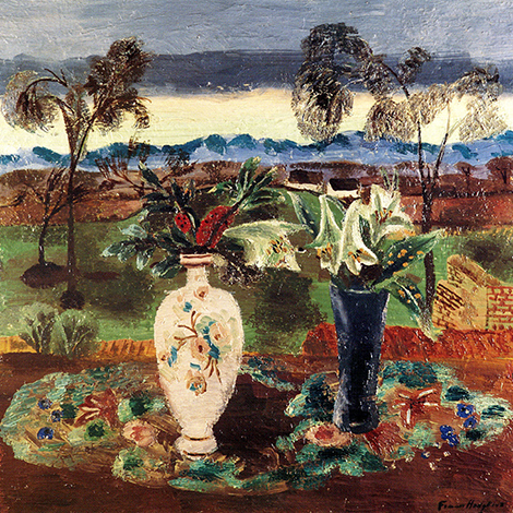 Frances Hodgkins - The Croft, Still Life with Divan