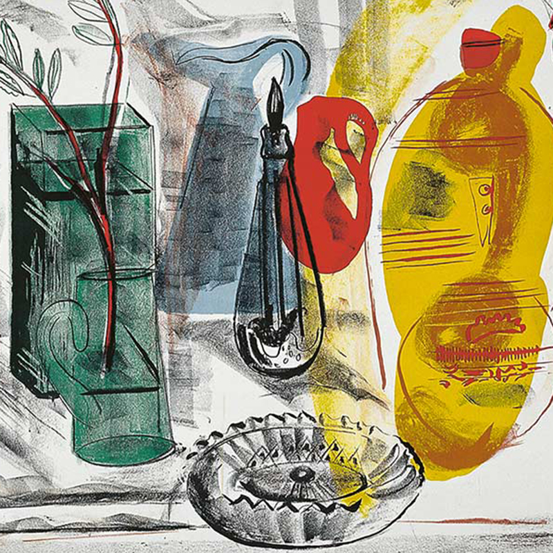 Frances Hodgkins - Arrangement of Jugs