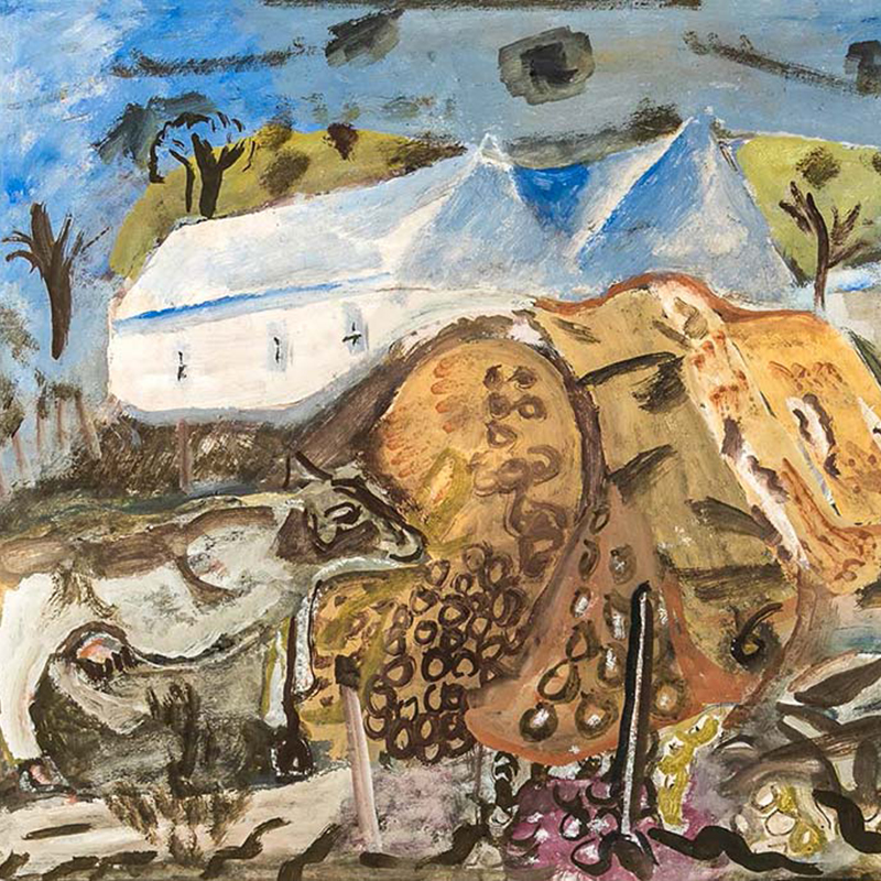 Frances Hodgkins - Country Colour, Purbeck