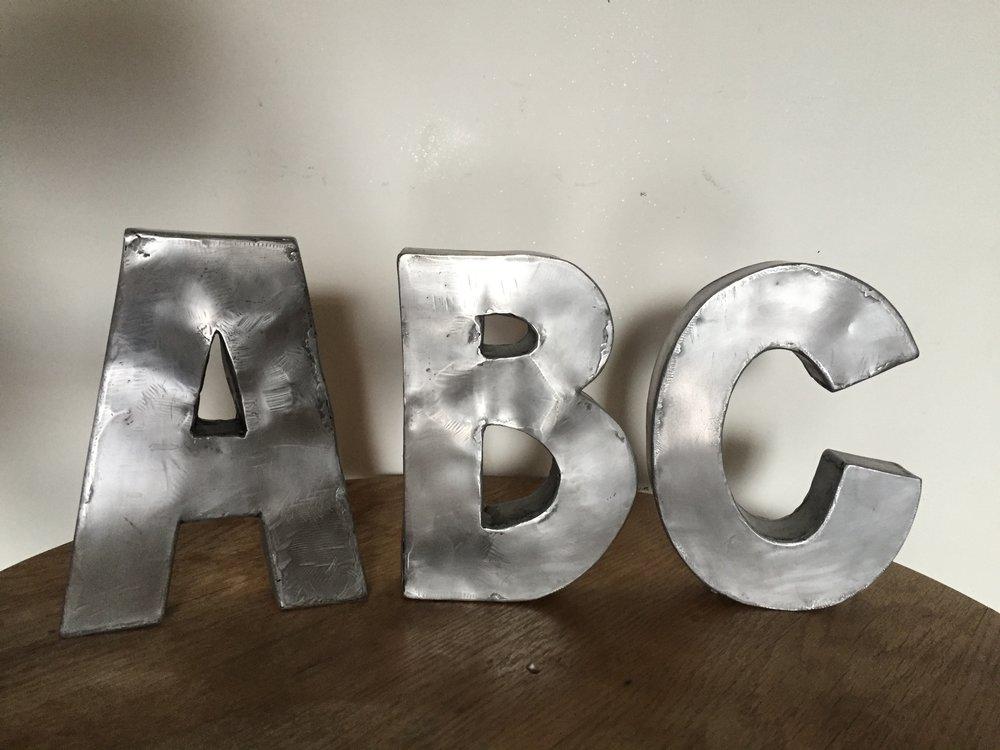ABC, steel, beeswax