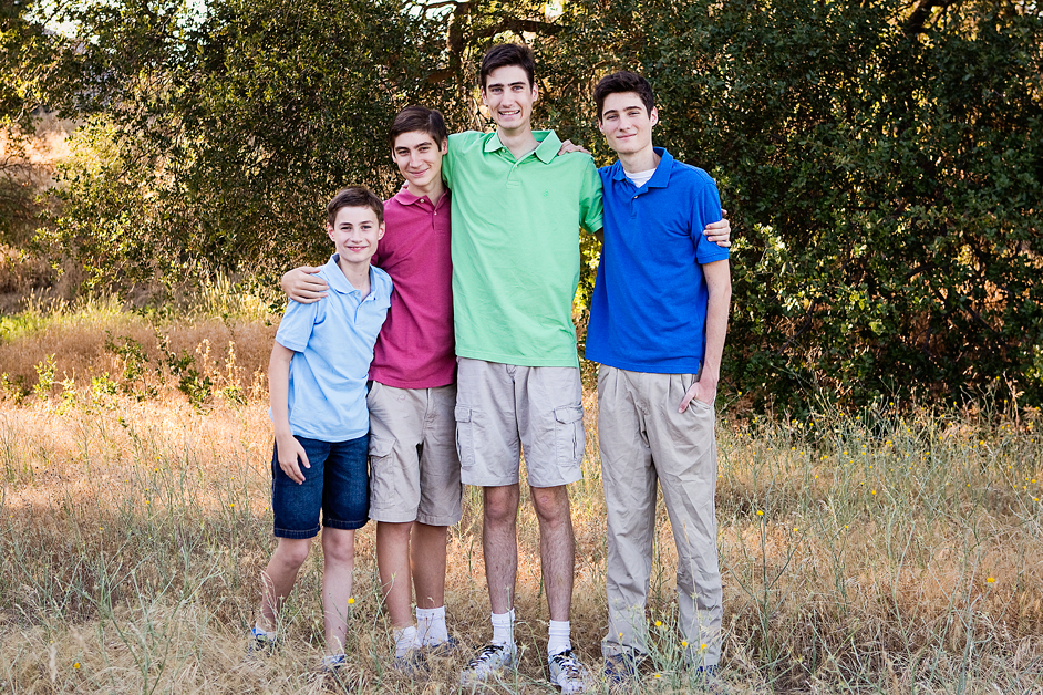 Four boys, Amy Wright Photography, Roseville Family Photographer