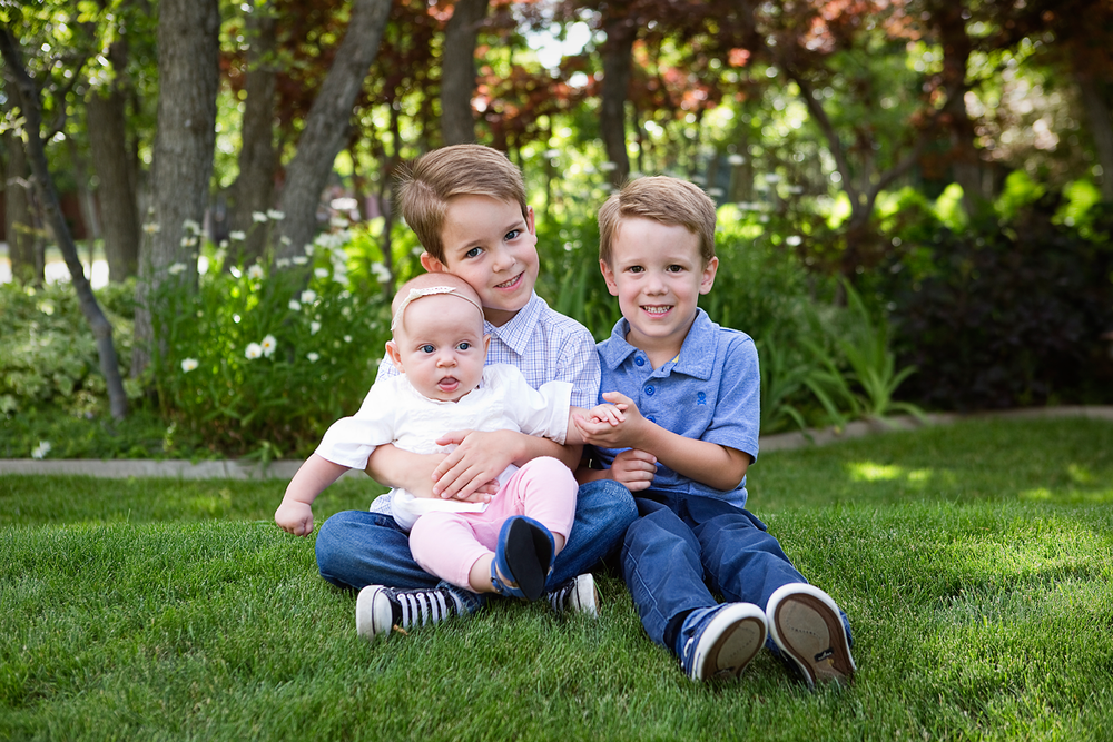 Three kids, Amy Wright Photography, Roseville Lifestyle Photographer