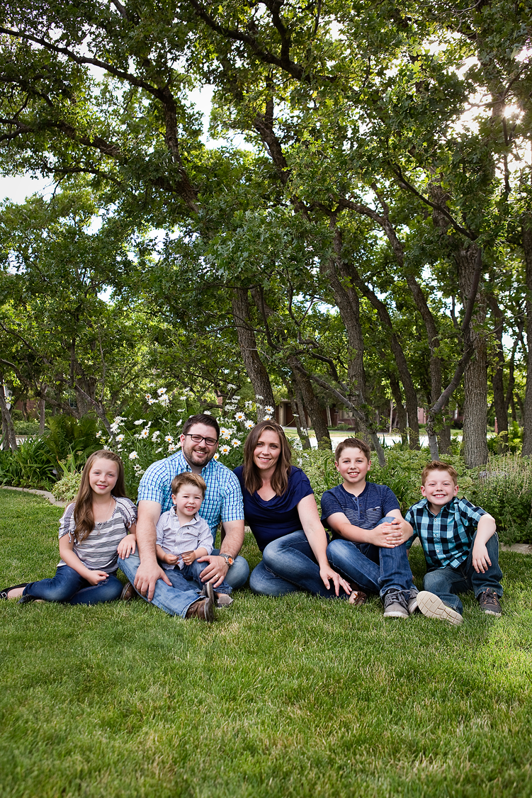 Family of six, Amy Wright Photography, Roseville Family Photographer