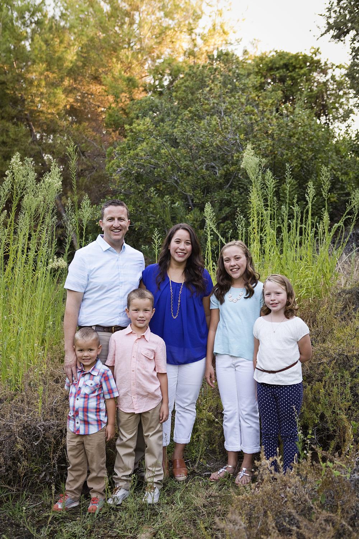 Family of Six, Roseville Family Photographer