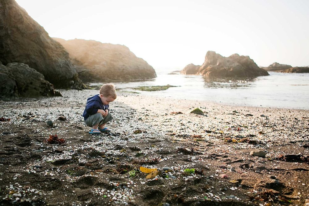 Fort Bragg Glass Beach, Amy Wright Photography