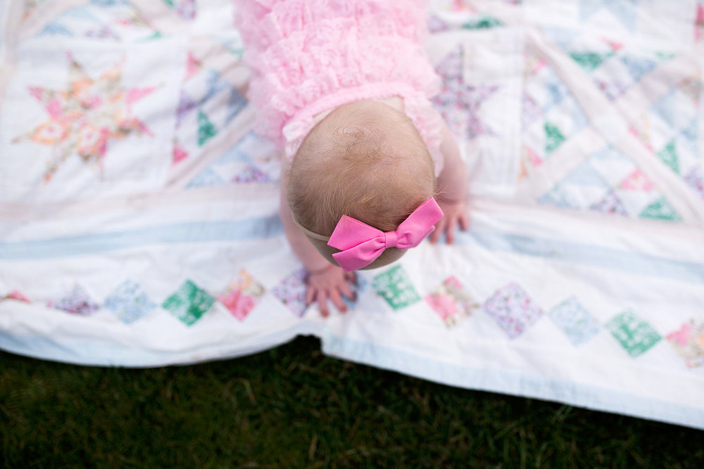 Amy Wright Photography, Sacramento Family Photographer, Crawling Baby Girl