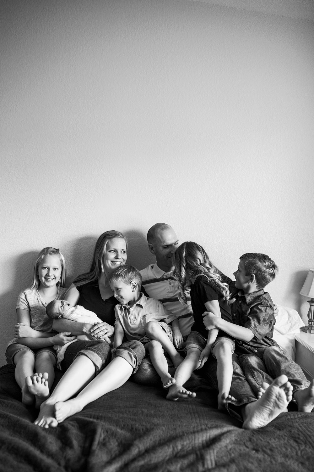 Family of 7, Sacramento Northern California Newborn Photographer, Amy Wright Photography