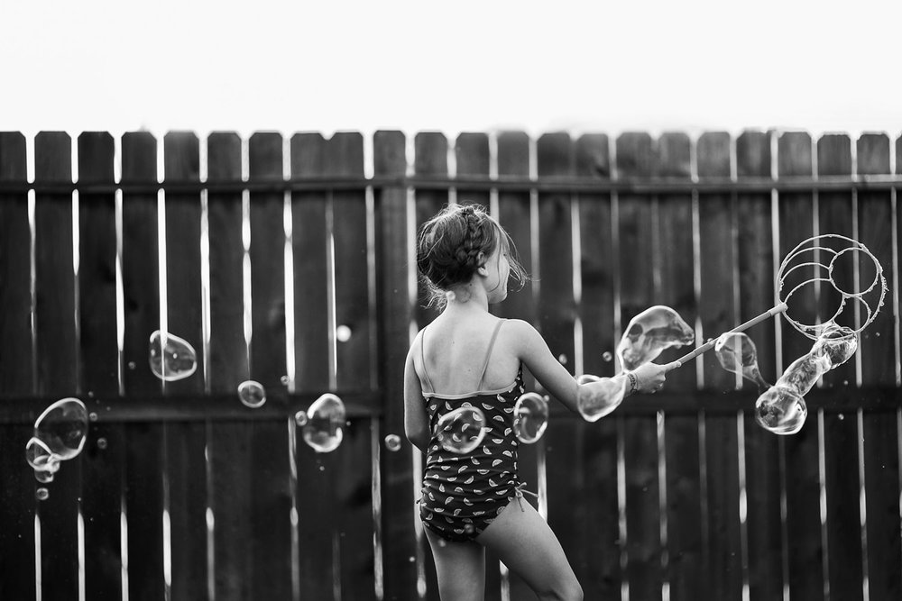 Girl with Bubbles, Sacramento Family Photographer, Amy Wright Photography