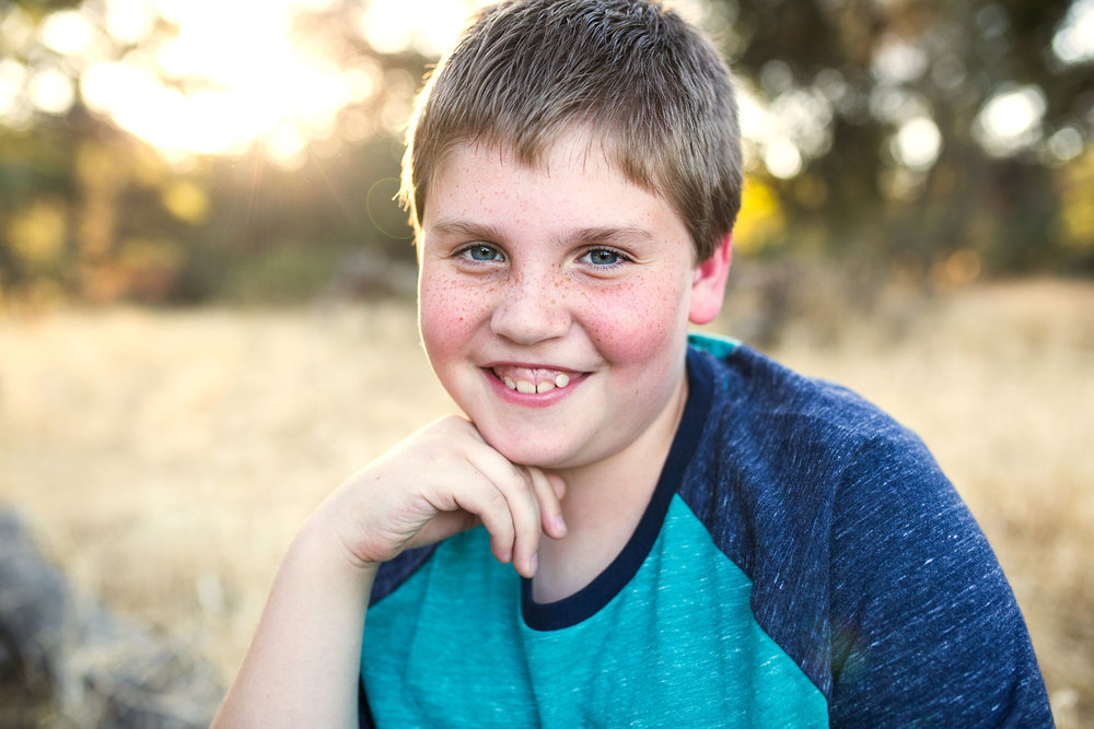Pre-teen Boy, Roseville Family Photographer, Amy Wright Photography