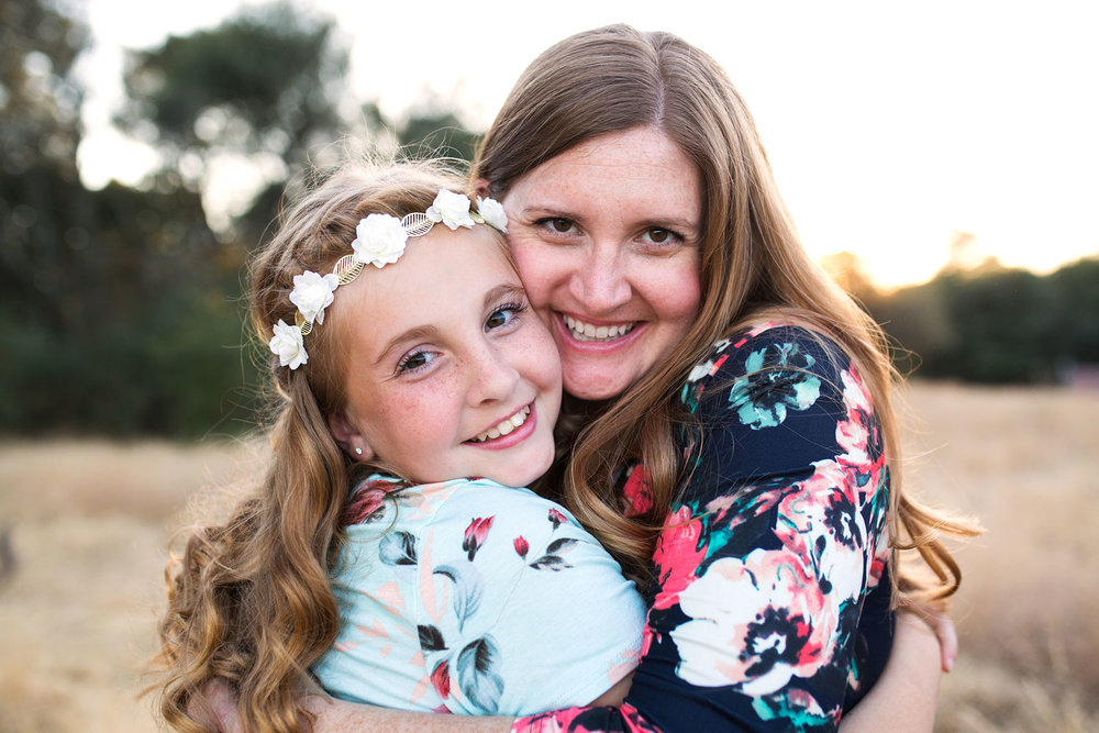 Mother and Daughter, Roseville Family Photographer, Amy Wright Photography
