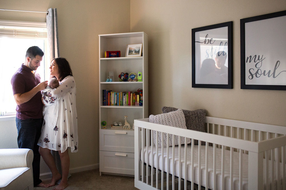 Family of Three, Roseville Newborn Photographer, Amy Wright Photography