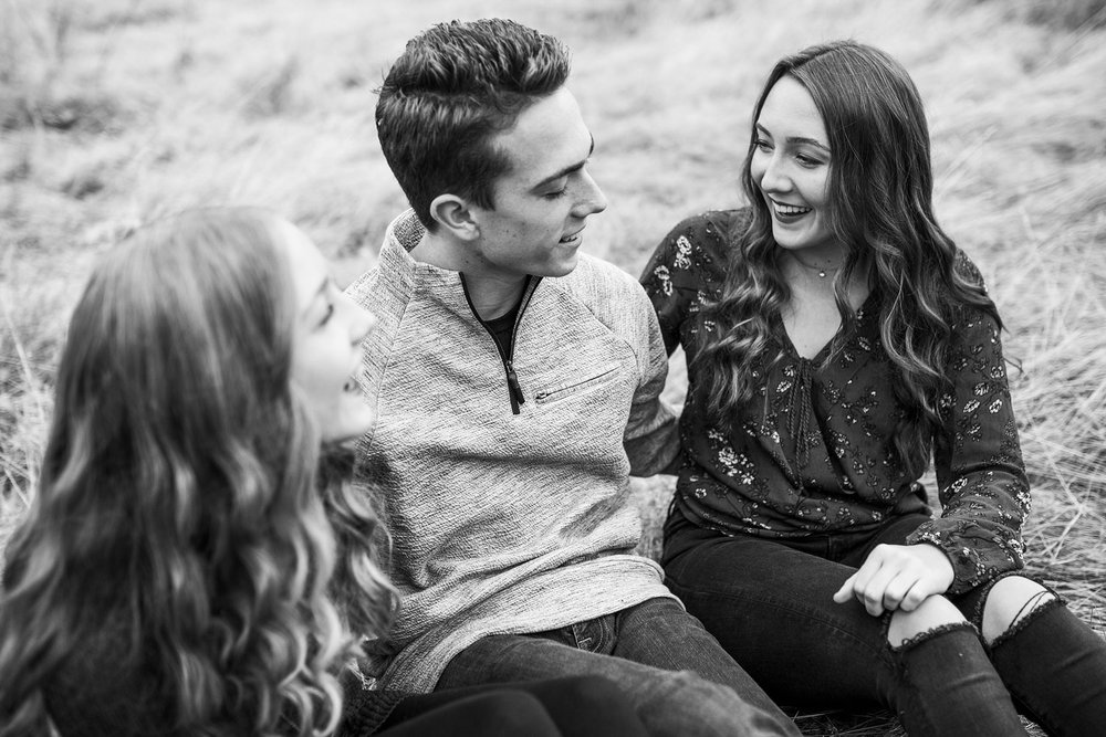 Three Siblings, Roseville Sacramento Northern California Family Photographer, Amy Wright Photography