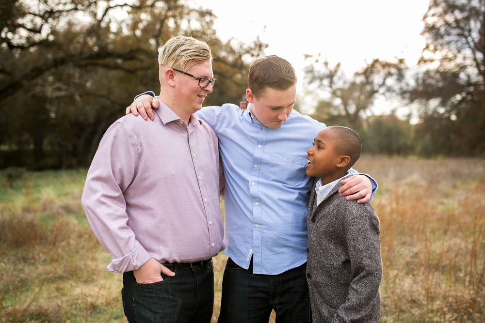 Three Brothers, Family of Five, Amy Wright Photography, Sacramento Family Photographer