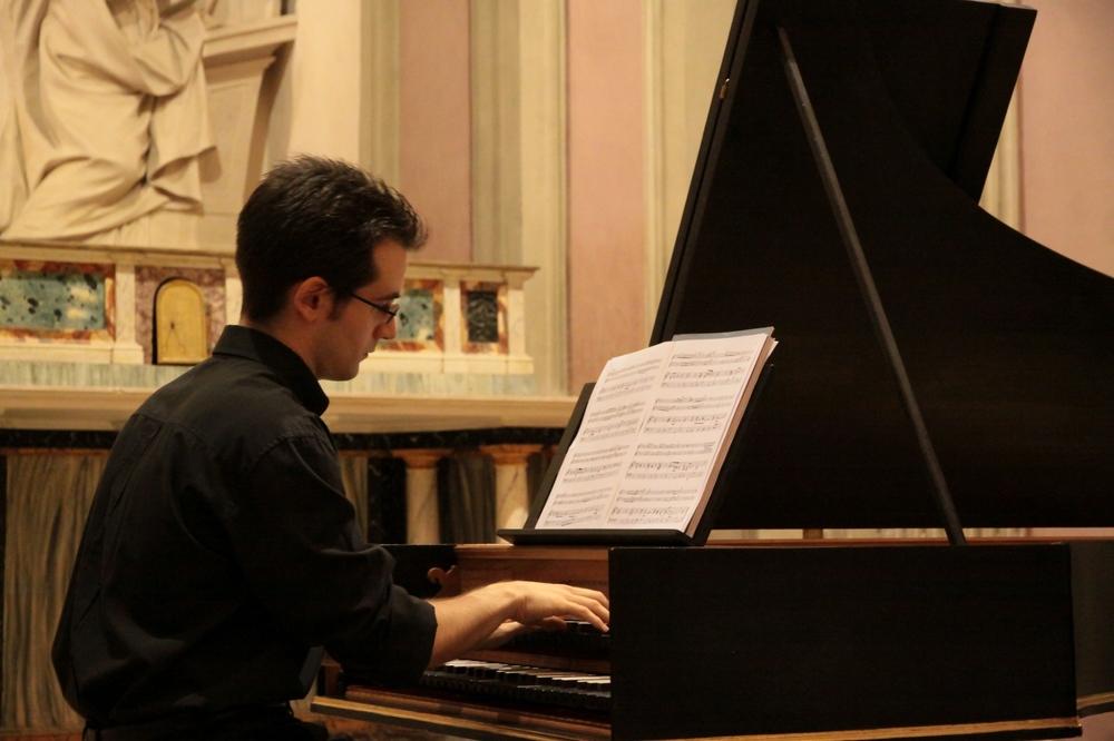 Photo:  Mario Della Fornace . | Harpsichord:  Roberto Livi .
